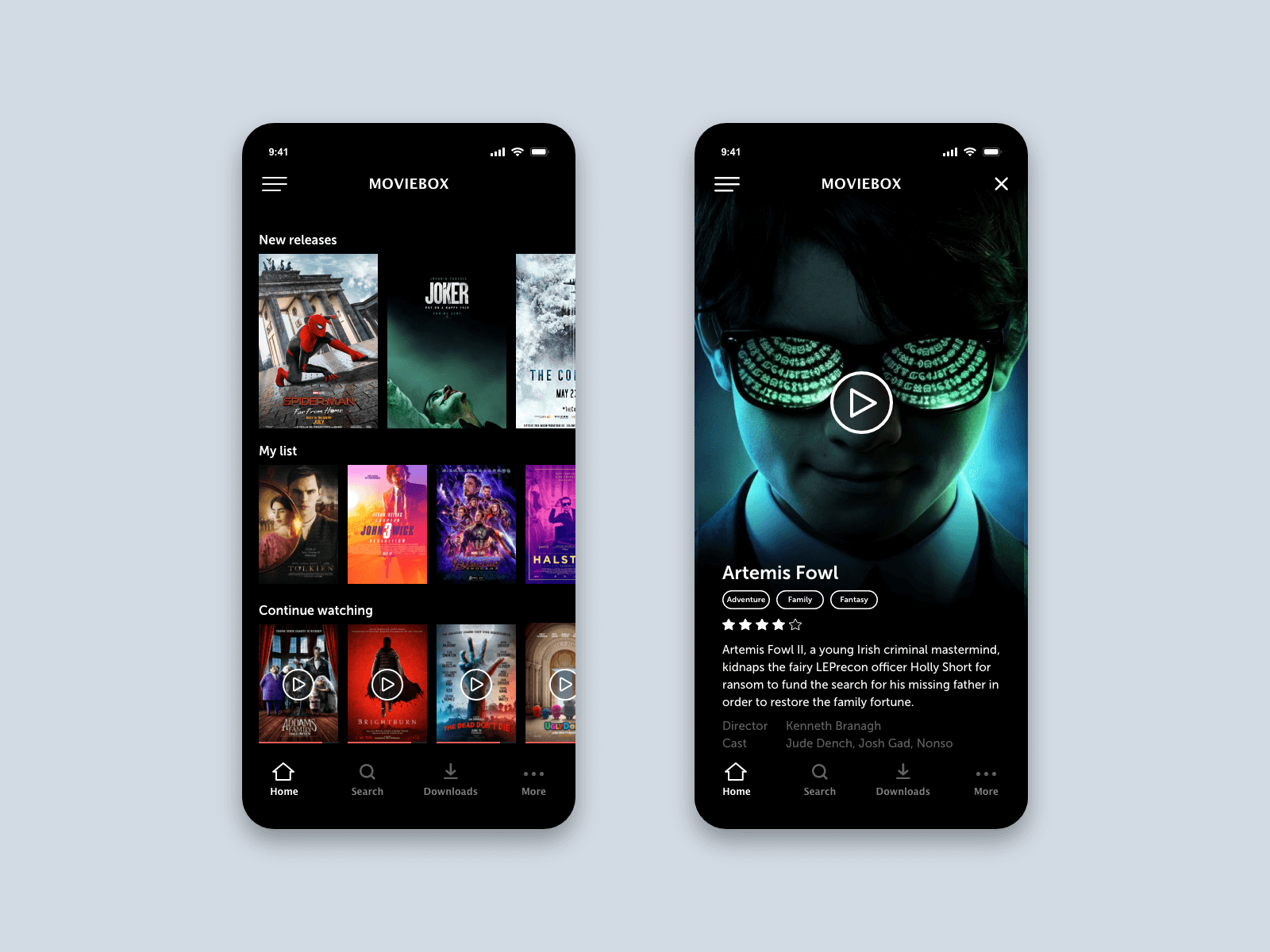 Music Player App Mockups